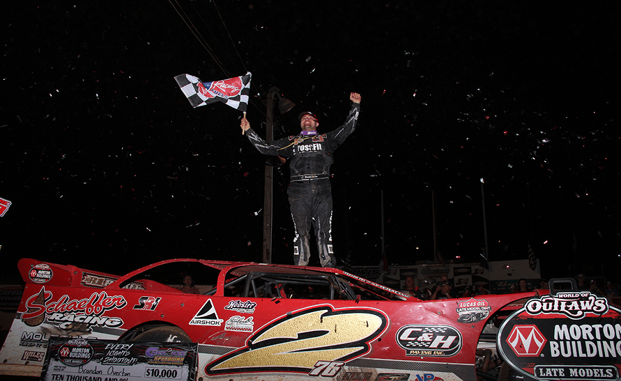 Madden, Overton Drive Away with Wins During Busy WoO Morton Buildings Late Model Series Weekend