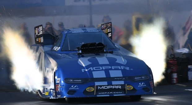 Hagan Challenges in Funny Car