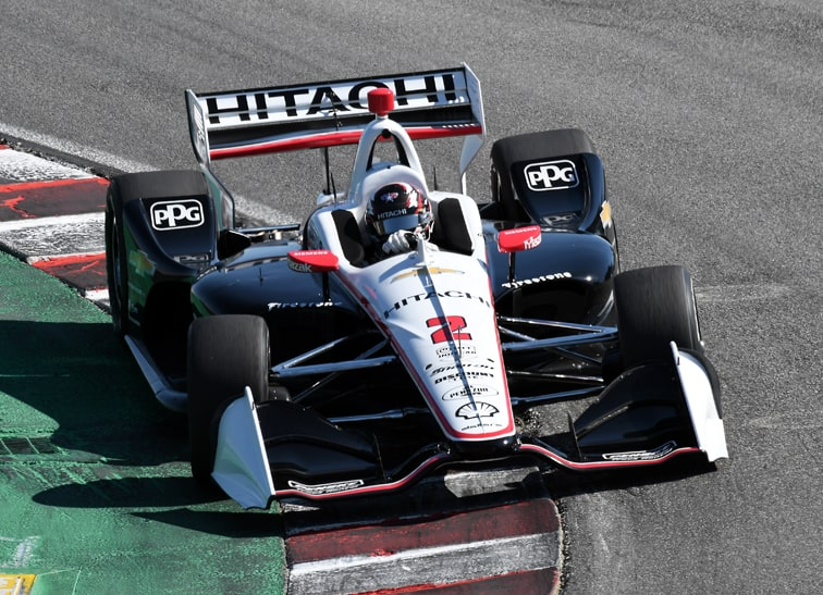 2019 INDYCAR Champ Newgarden Takes On Charlotte's Roval