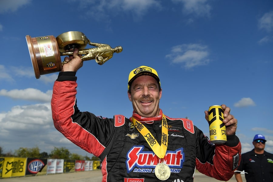 Determination Leads to Impressive Wins at AAA Texas NHRA Fall Nationals