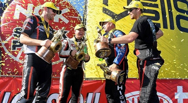 Torrence, Hight and Kramer Drive to Delayed Countdown to the Championship Wins at zMAX Dragway