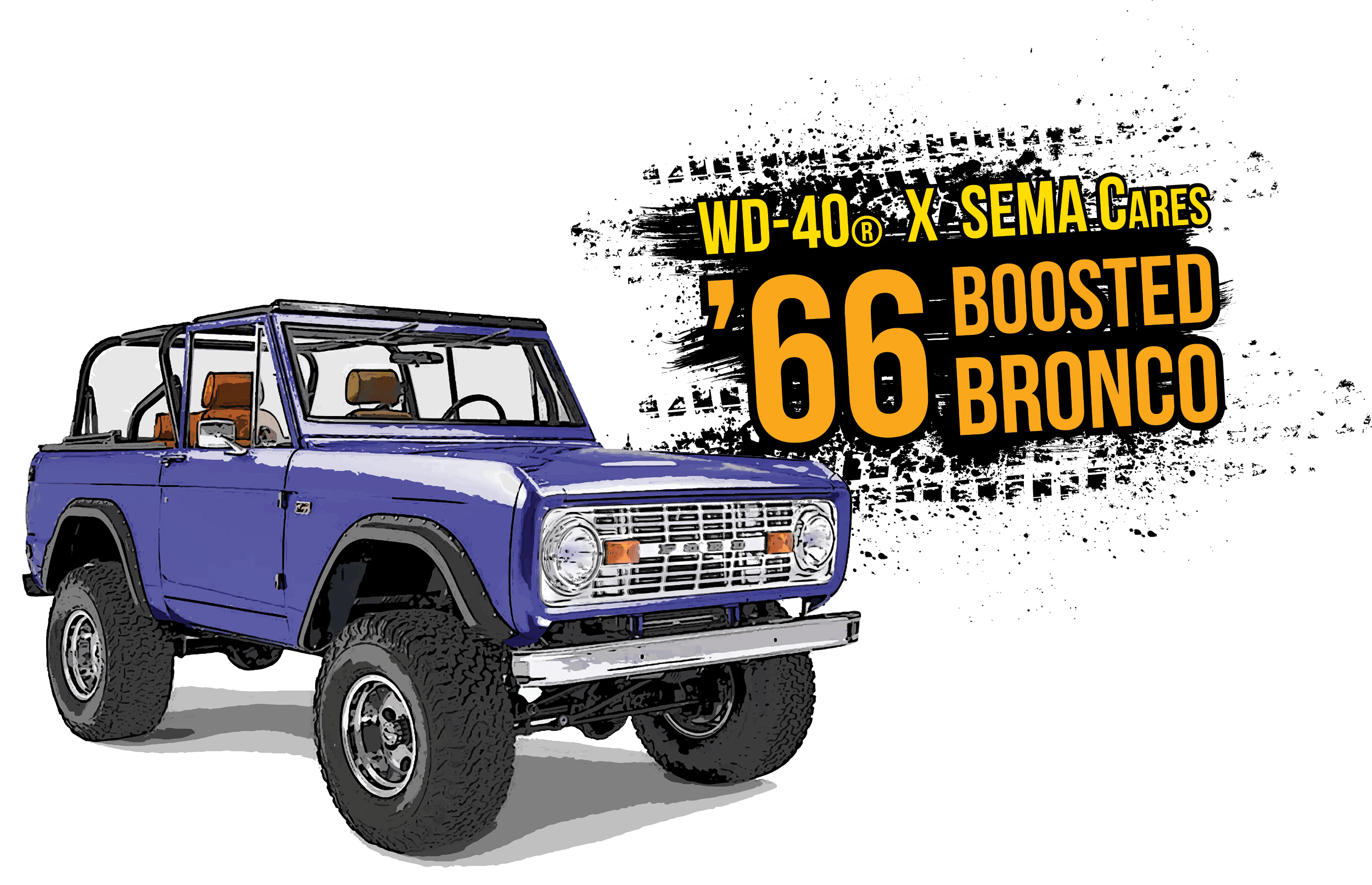 WD-40 Partners with SEMA Cares to Reveal 1966 Ford Bronco