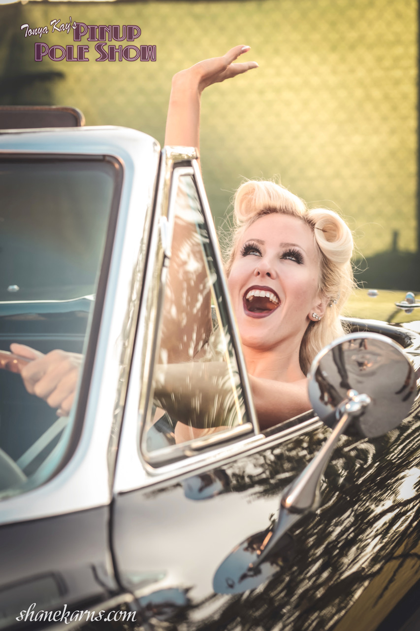 Pinup Pole Show Pinup of the Week: Tiffany Rose with a