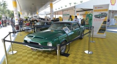 SEMA: Green Hornet Shelby Prototype Debuts at Shell Live Stage