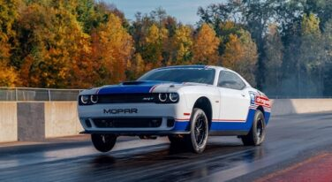 Mopar and Dodge//SRT Show Off 4th Generation, 2020 Challenger Drag Pak at SEMA