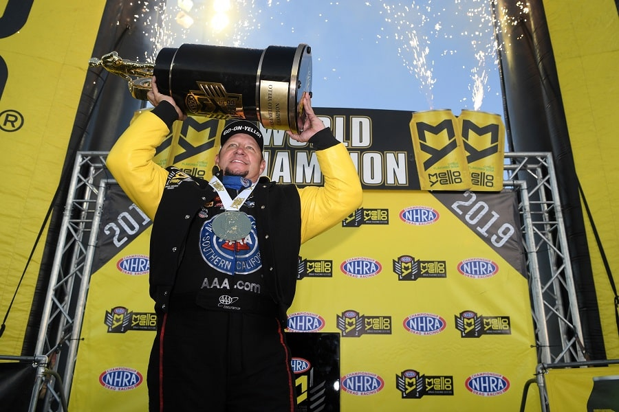 Torrence, Hight, Enders Among NHRA Champs Crowned in Mello Yello Finale