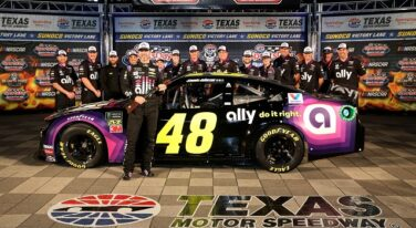 Jimmie Johnson NASCAR at Texas Motor Speedway