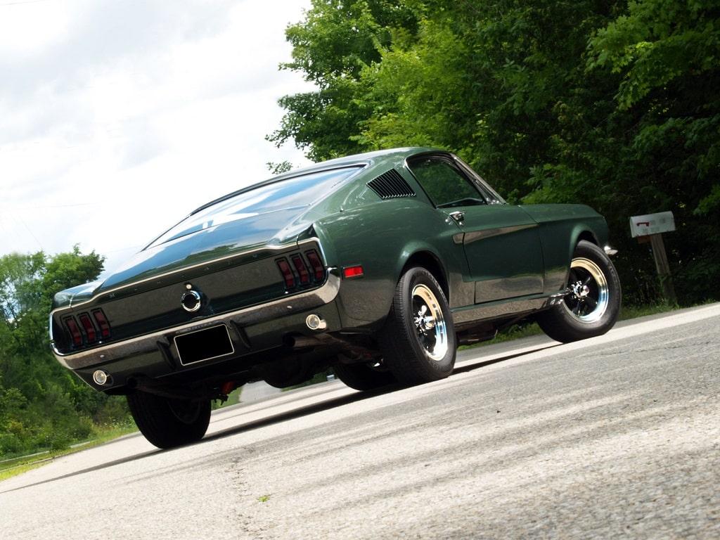 Muscle Car Madness: 1968 Mustang 'Bullitt' GT 390 Fastback Replica