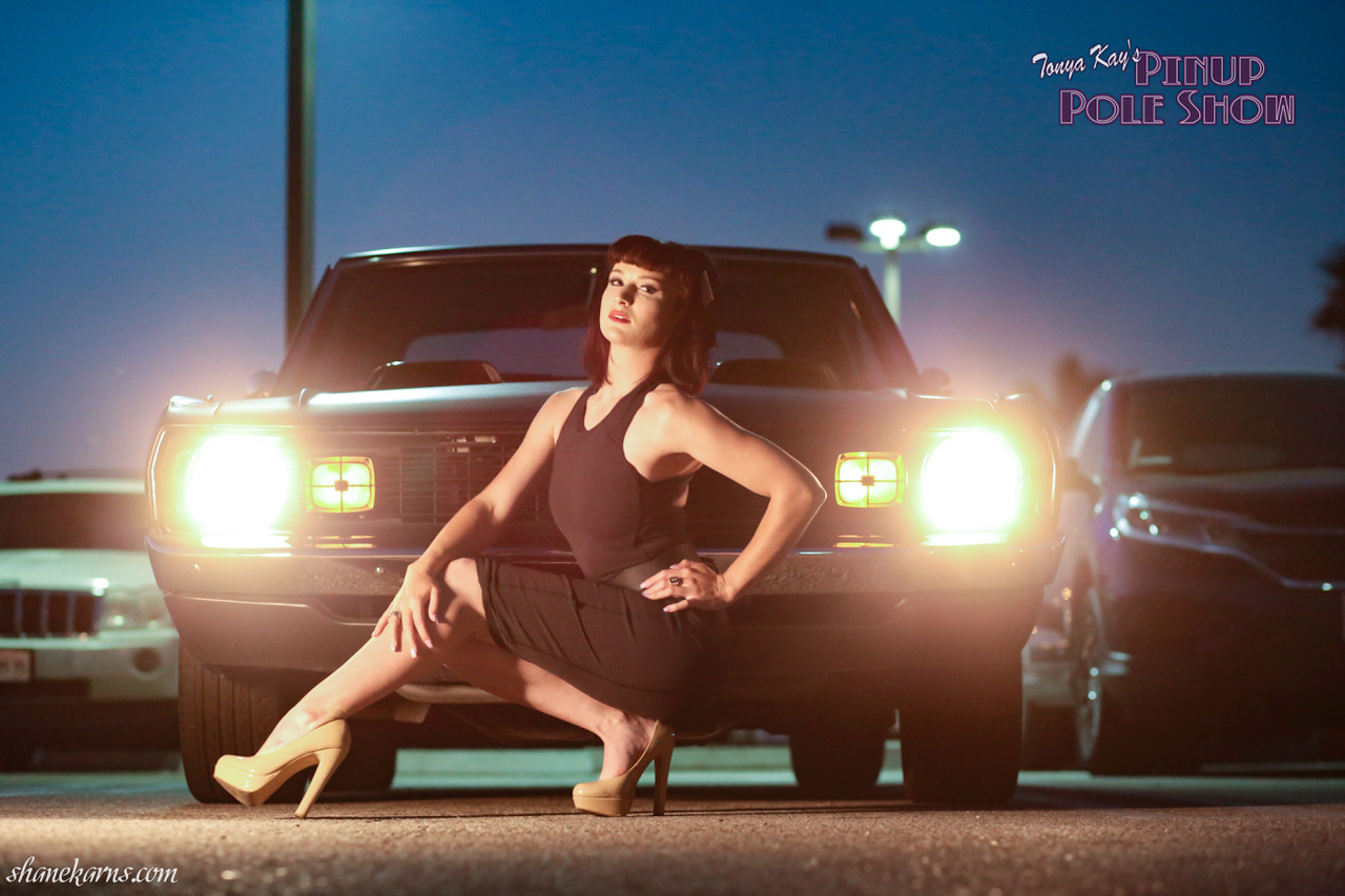 Pinup Pole Show of the Week is Ted Joneson