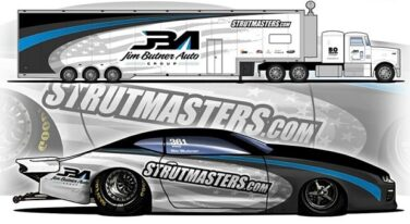Butner and Strutmasters Together for 2020 Pro Stock Campaign