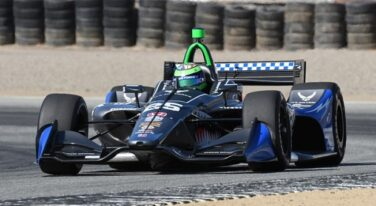 Conor Daly, US Air Force Partner with Ed Carpenter Racing