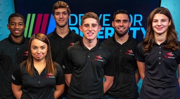 Meet the 2020 NASCAR Drive for Diversity Driver Development Team