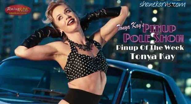 Pinup Pole Show Pinup of the Week: Tonya Kay with a 1964 Mustang