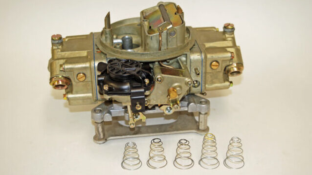 Tuning a Vacuum Secondary of a Holley Carb