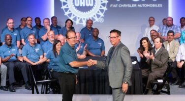 United Auto Workers and Fiat Chrysler Close Out Final Negotiations With Big Three Detroit Automakers