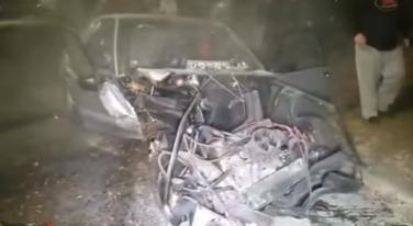 [Video] Driver Walks Away from Insane Street Crash