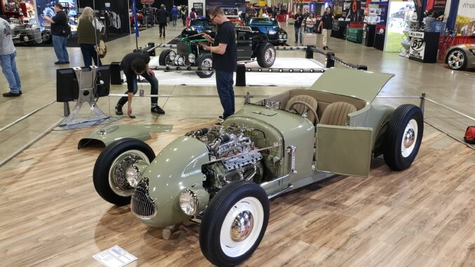 "Dustin Smith's 1927 Ford Roadster ""The Ivy Reed"""