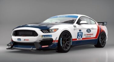 Ford's Mustang GT4 Race Car a Lyn St. James Tribute