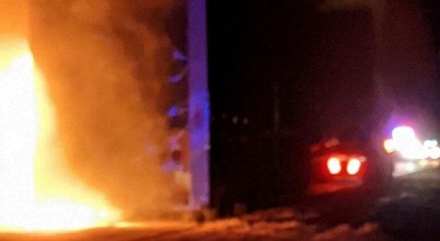 Don Schumacher Racing Hauler Goes Up in Flames