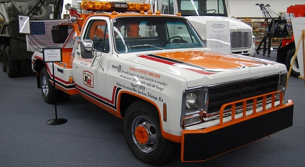 World's Fastest Tow Truck
