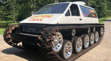 Today's Cool Car Find is a F**king Tank for $110,000