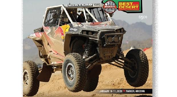 """Best In The Desert Releases Tensor Tire Parker """"250"""" Event Program"""
