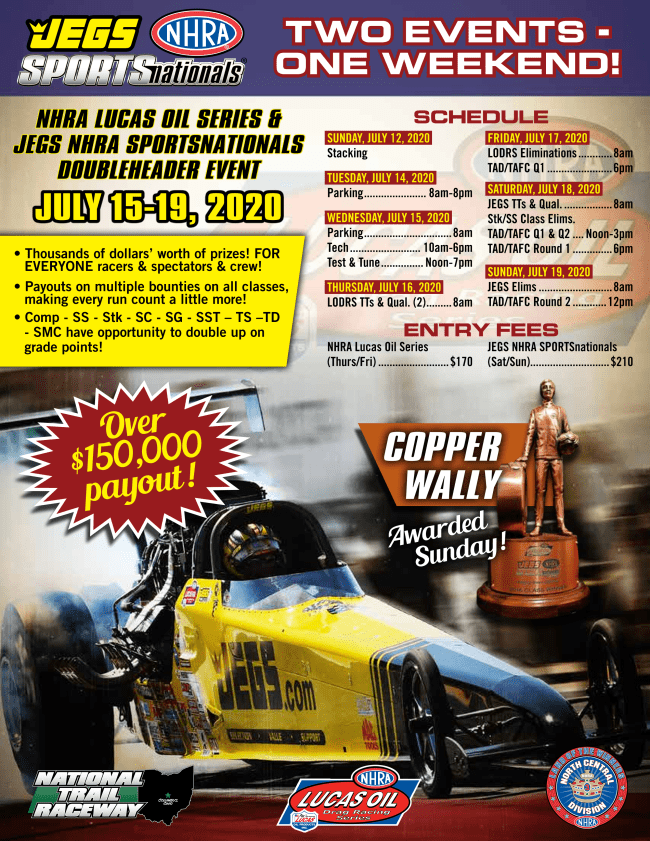 JEGS SPEEDweek Adds Division 3 Race to JEGS SPORTSnationals Event