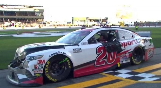 Jones Survives Wreck-Fest in 2020 NASCAR Busch Clash