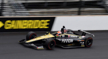 Hinchcliffe Action Shot at Indy