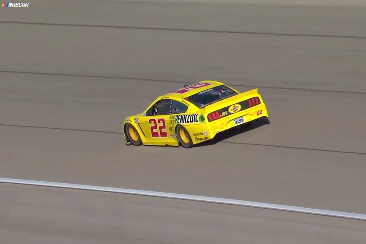 Logano NASCAR Las Vegas 2020