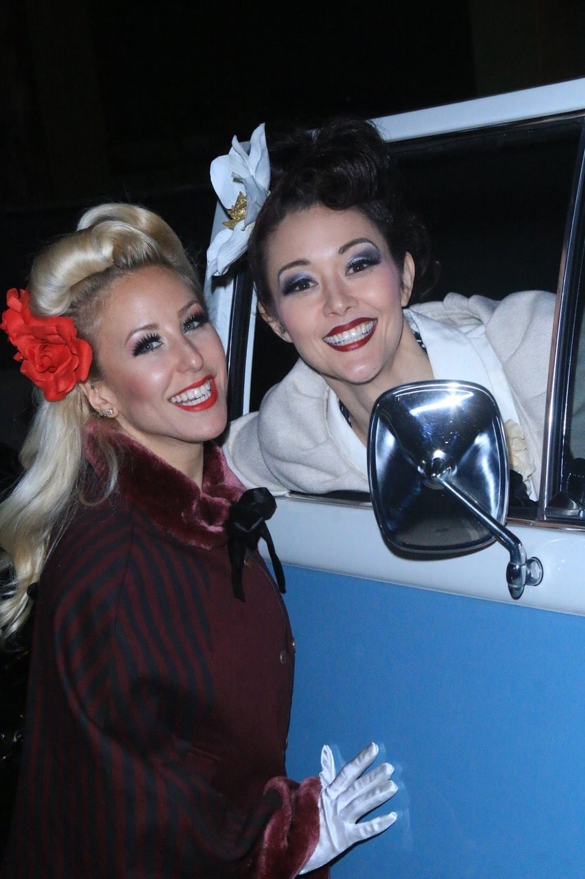 Pinup Pole Show Pinup of the Week: Pinup Pole Show with a VW Bus