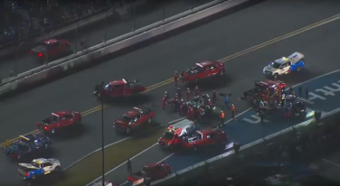 The Crash that Left Daytona Silent - Again