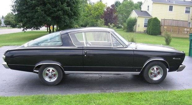 Jason's '66 Plymouth Barracuda