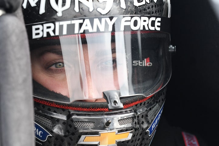 Brittany Force at Pomona