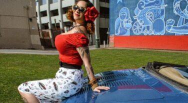 Mitzi's Pinup Corner: Miss Sacramento Autorama 2020 2nd Place Claudirox