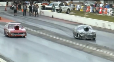 [Video] Keith Haney Crash at NMCA Muscle Car Mayhem
