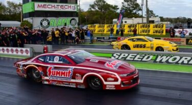 It's Coughlin in Pro Stock, Laughlin in Pro Mod at Inaugural Doorslammers Nationals