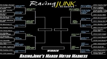 RacingJunk's March Motor Madness Round 2 Results and Round 3 Match-ups