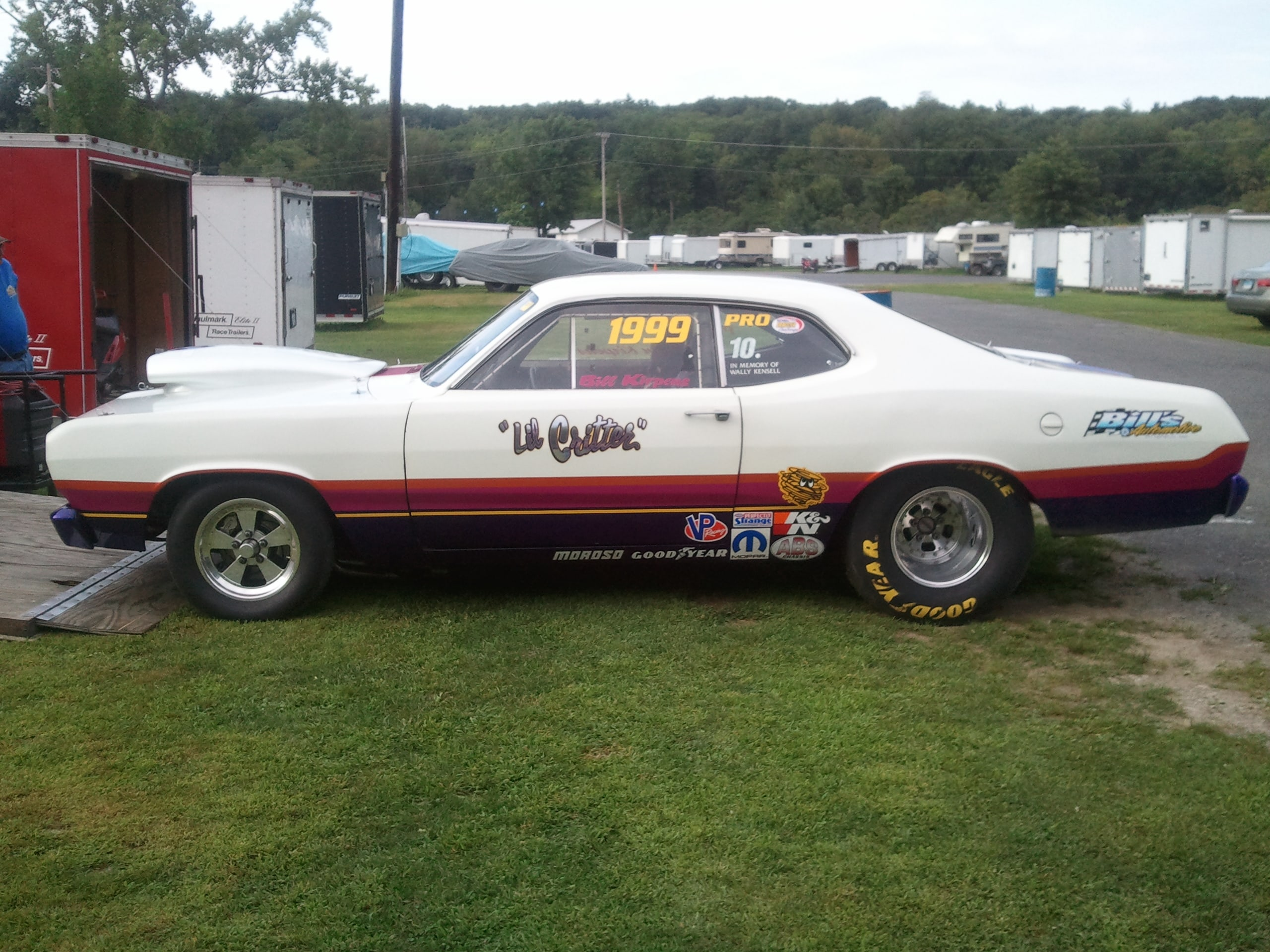 Bill Kirpens - Richmond, MA - 1972 Plymouth Duster