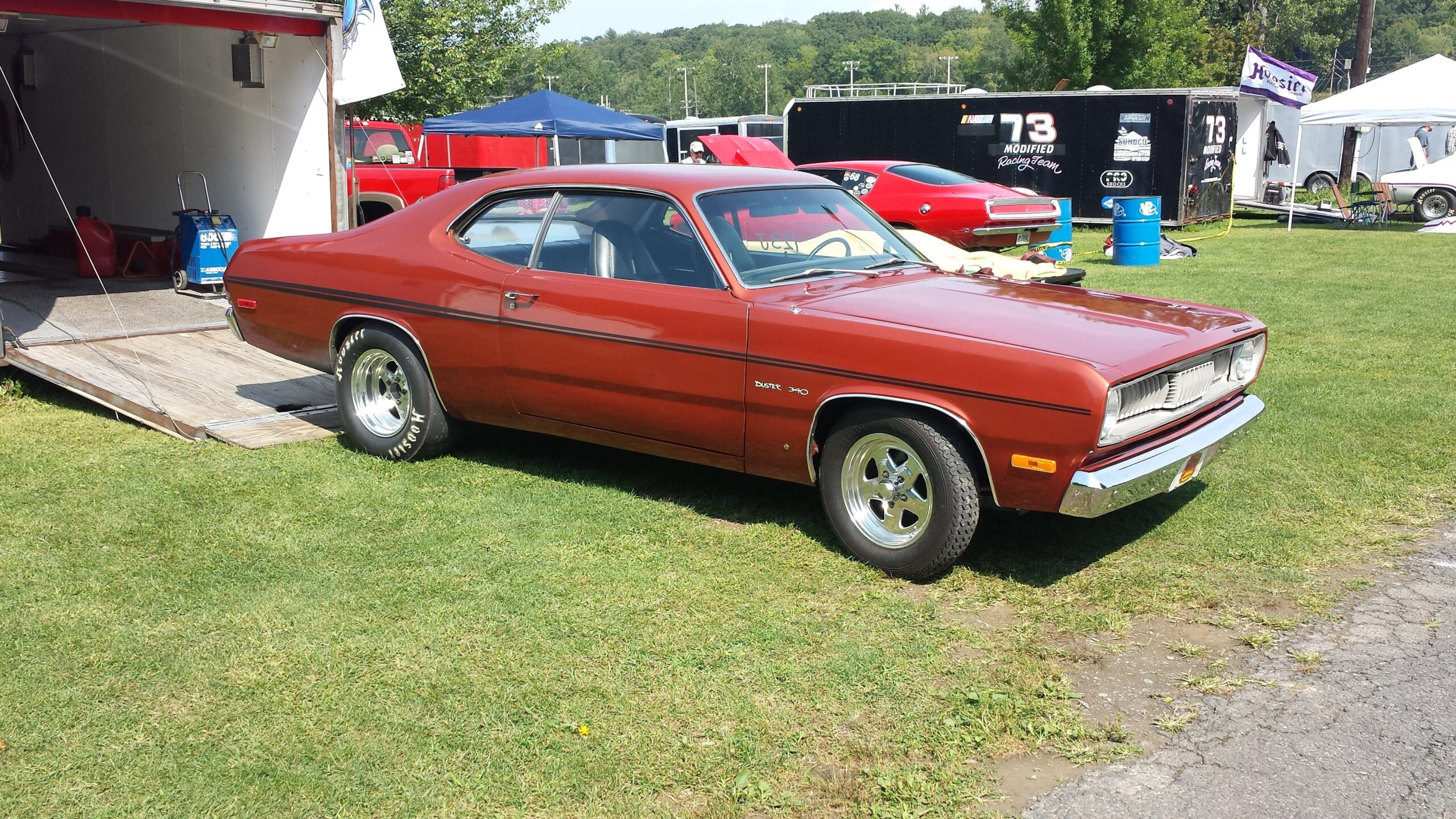 Bill Kirpens - Richmond, MA - 1971 Plymouth Duster