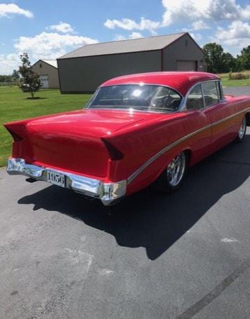 Carl & Kathy Schmachtenberger - Seymour, MO - 1956 Chevrolet Custom