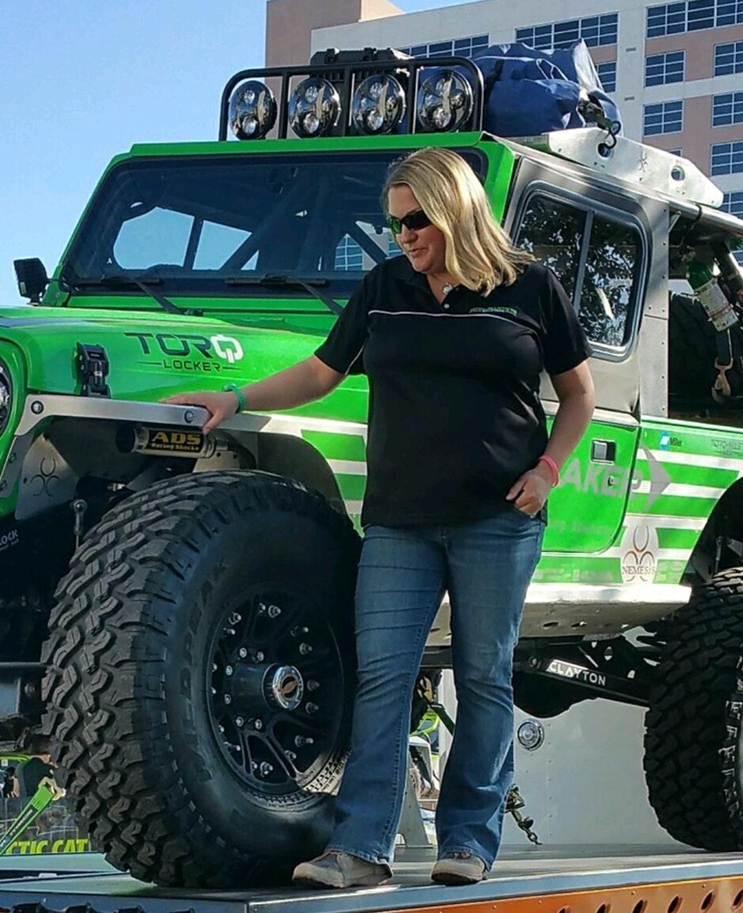 Cora Jokinen -Rochester NY - 2005 Jeep Wrangler Unlimited LJ