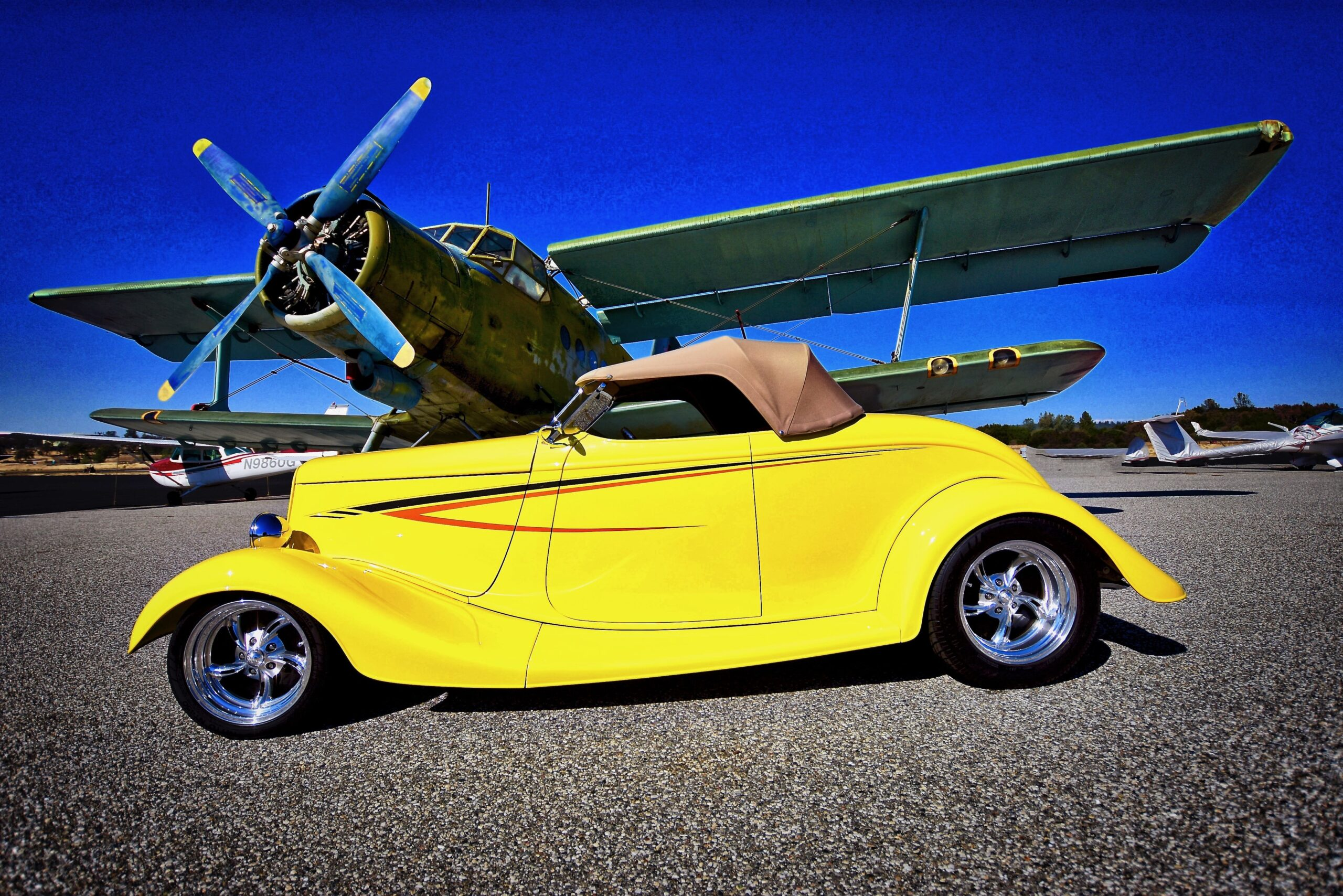 JoAnn Martinelli - Auburn, CA - 1933 Ford Roadster