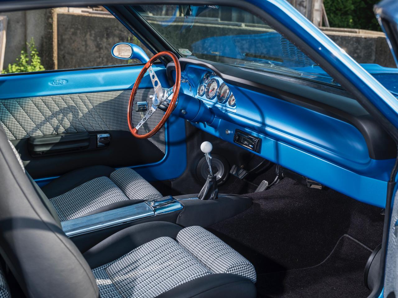 Car Features Glenn Sinon And His 1972 Ford Maverick Racingjunk News