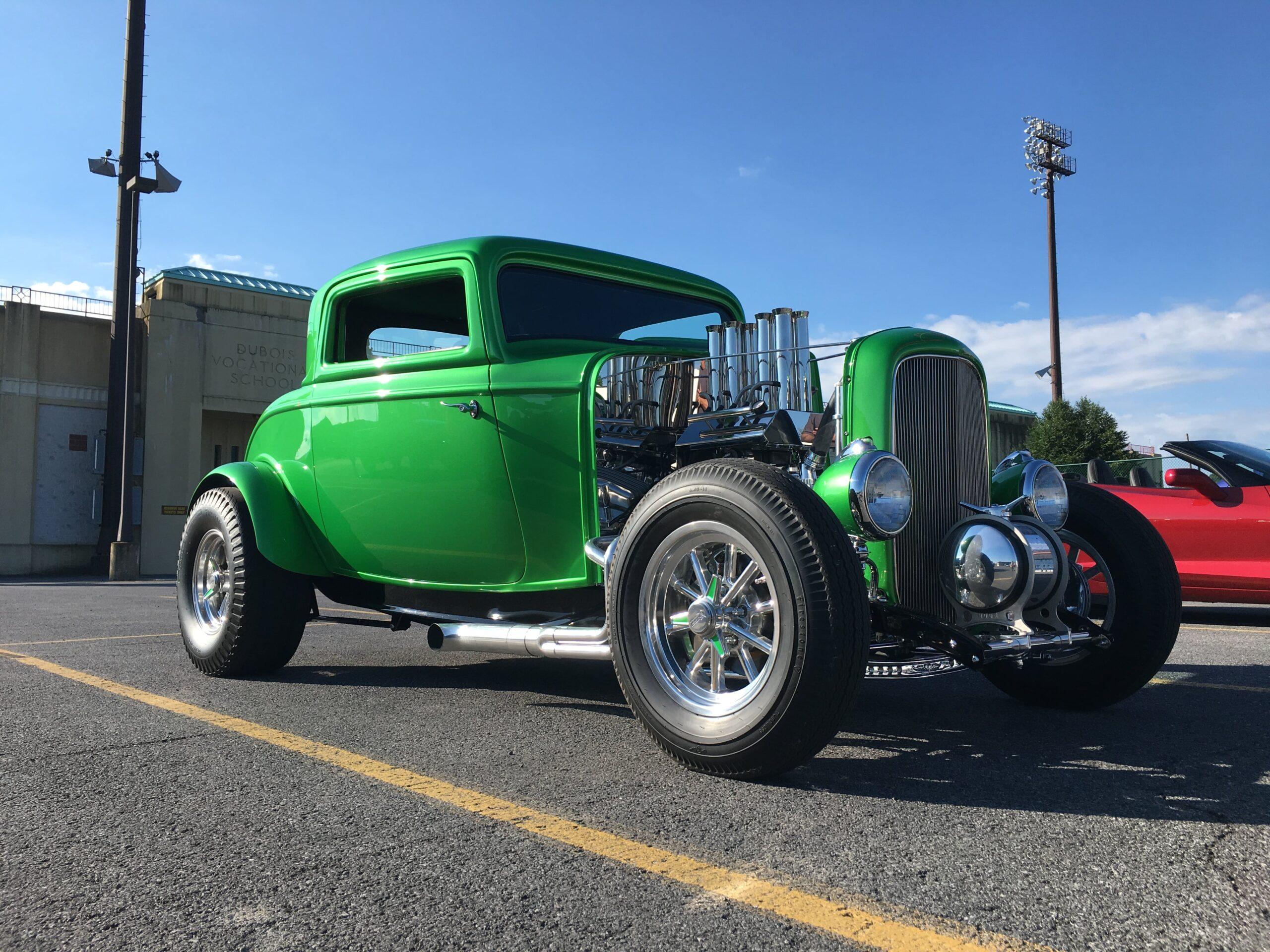 Ed lanzoni - Dubois, PA - 1932 Ford Coupe