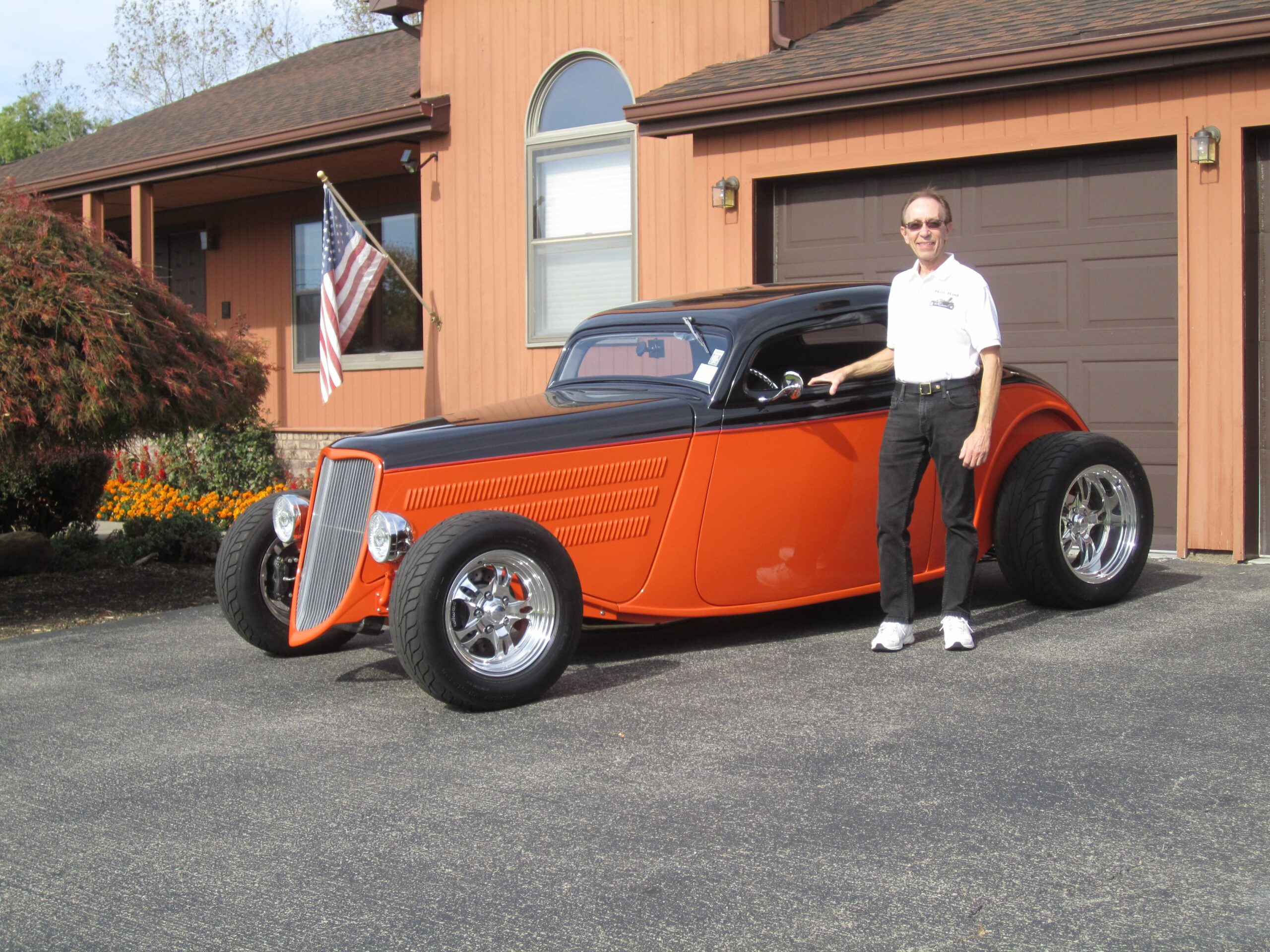 Gary Yanni - Webster, NY - 1933 Ford 3 Window Coupe -