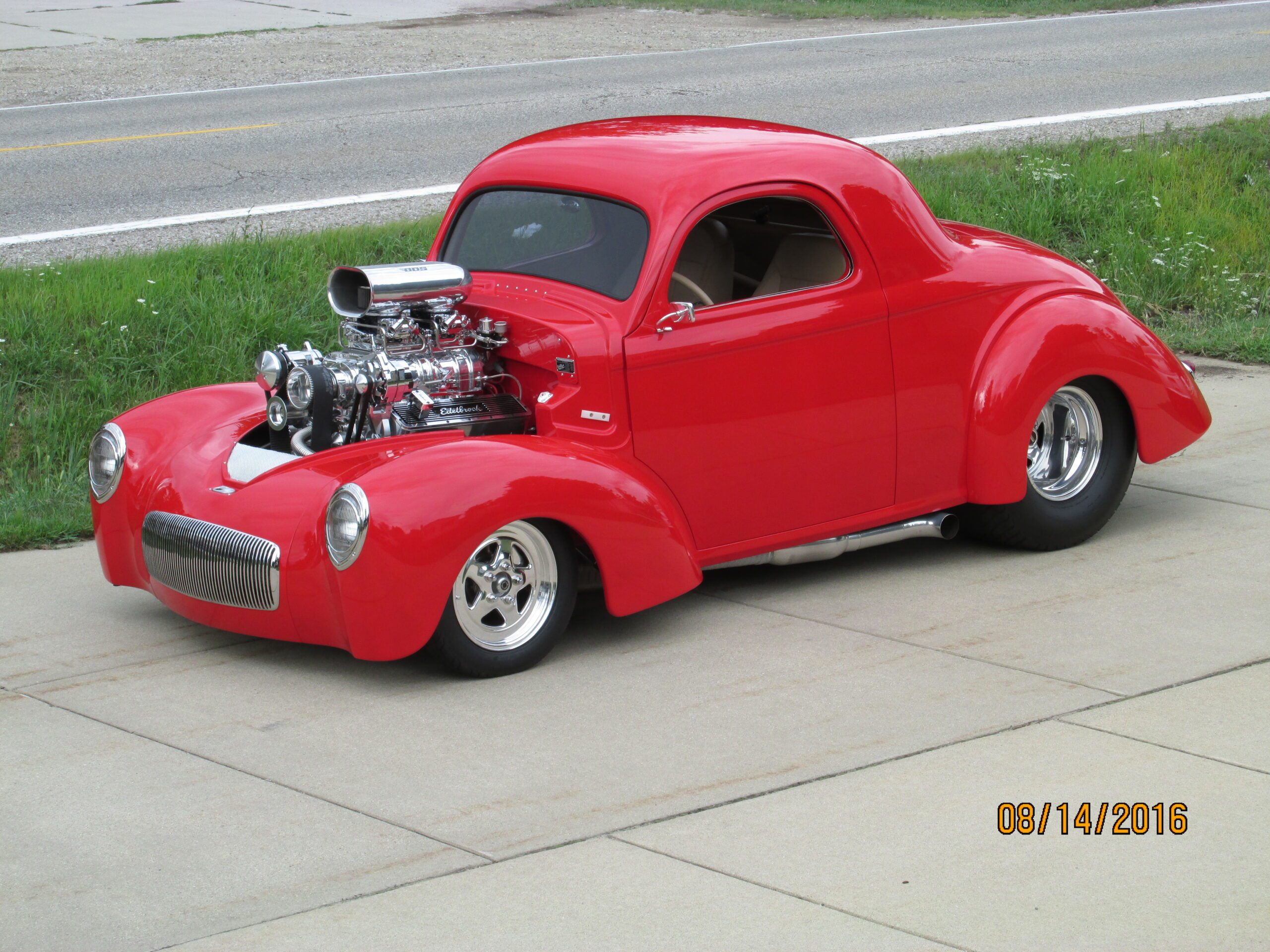 Robert Kinzer - Utica,MI - 1941 Willys Coupe
