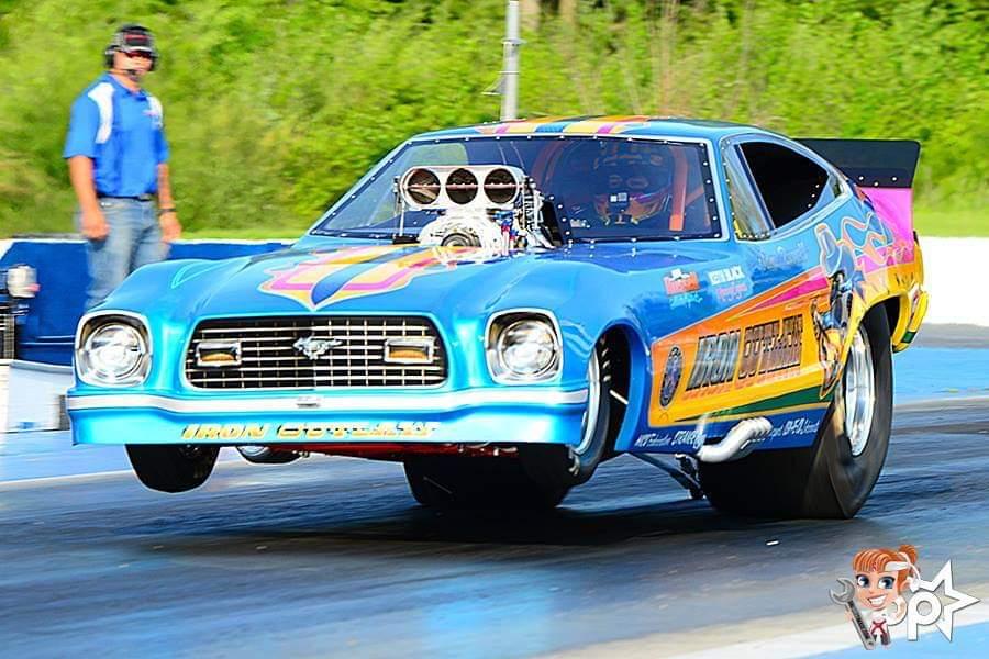 Jami Russell - Clifton Park, NY - 1976 Mustang II Funny Car