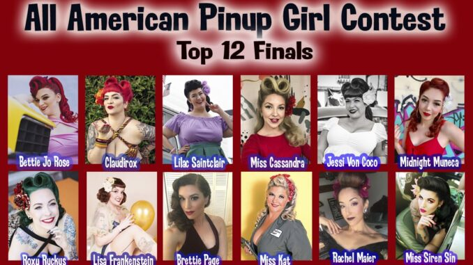 Miss All American Pinup Girl Contest
