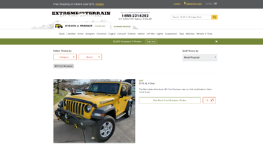 Extreme Terrain Releases  XT's Jeep Wrangler Photo Build hub